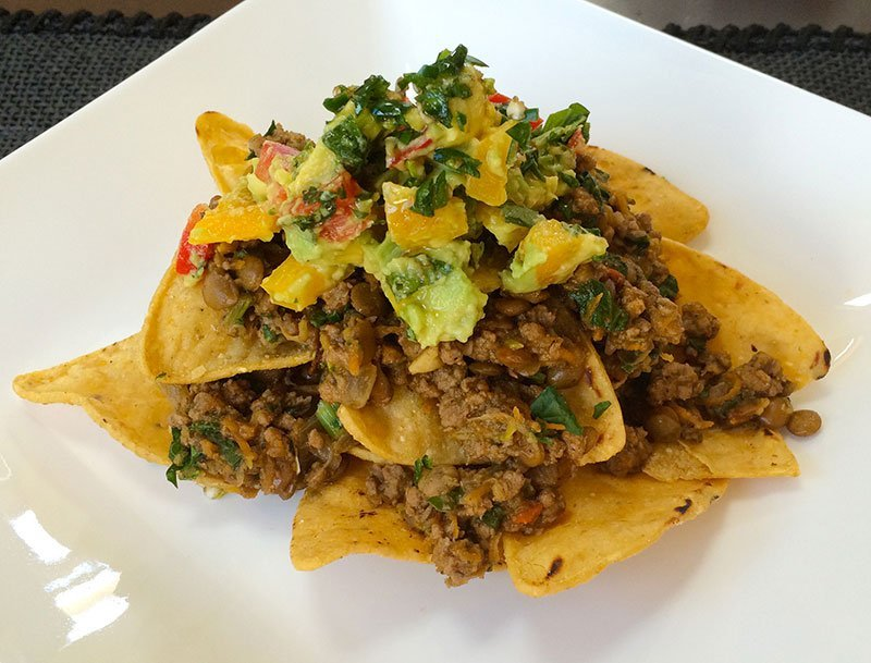 Healthy Nachos - by Wicked Wellbeing