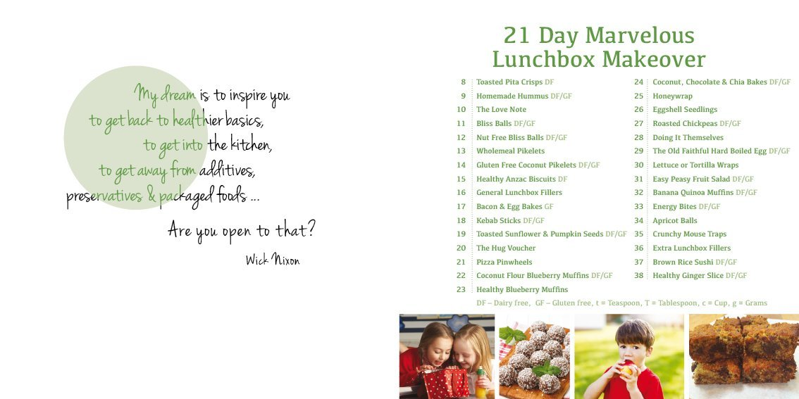 Wicked Wellbeing - 21 Day Marvellous Lunchbox Makeover