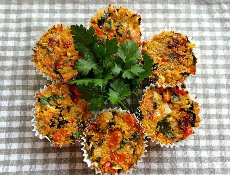 Quinoa-Cakes