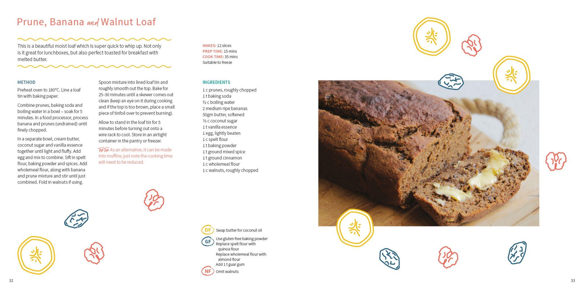 Prune-and-Walnut-Loaf