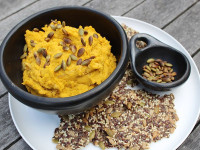 roasted pumpkin cumin hummus