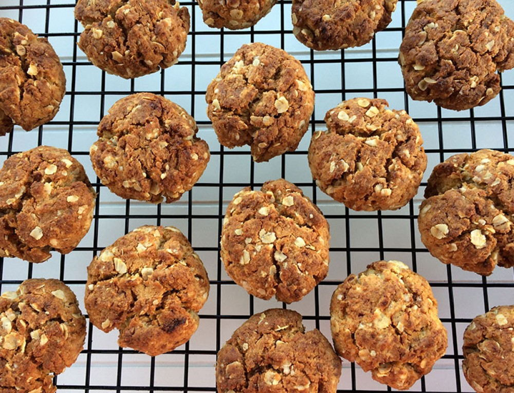 Anzac Biscuits   Healthy