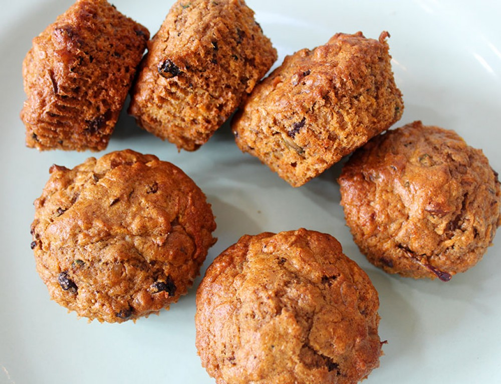 Apple & Carrot Muffins