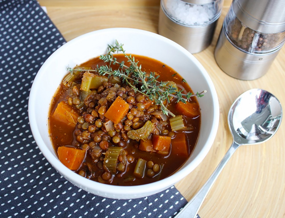 Hearty Vegetable & Lentil Soup