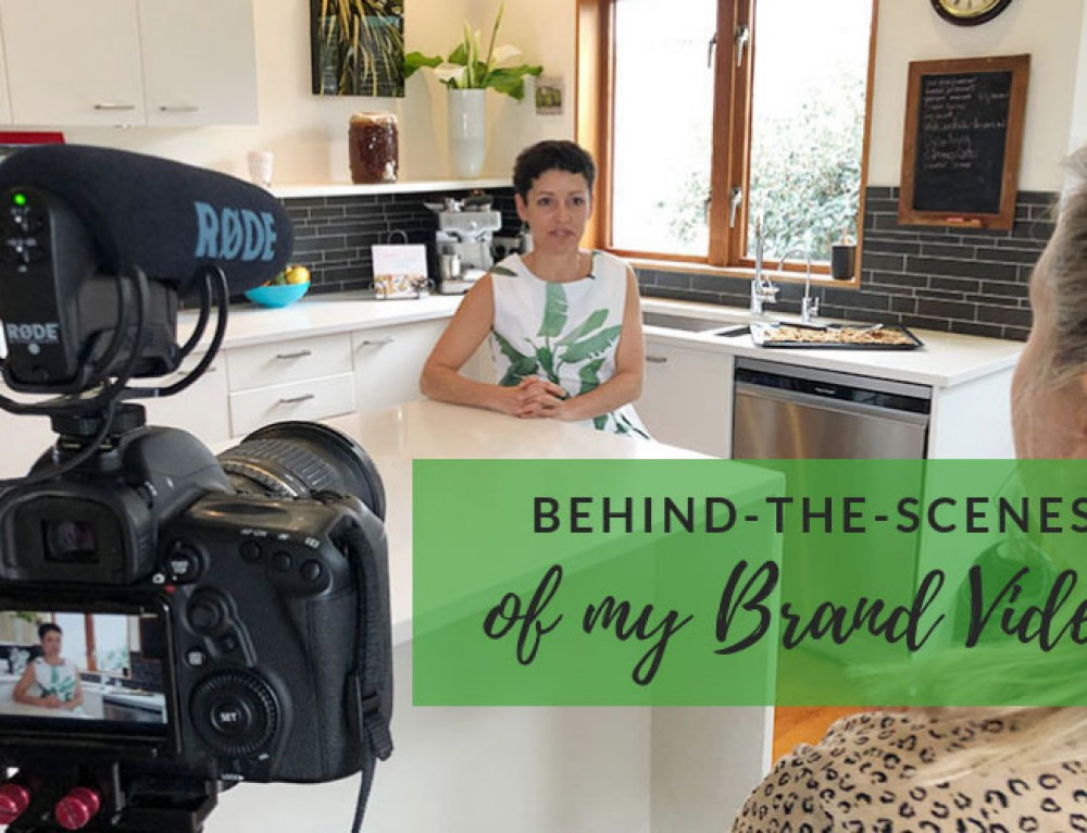 Behind-the-Scenes of my Brand Video