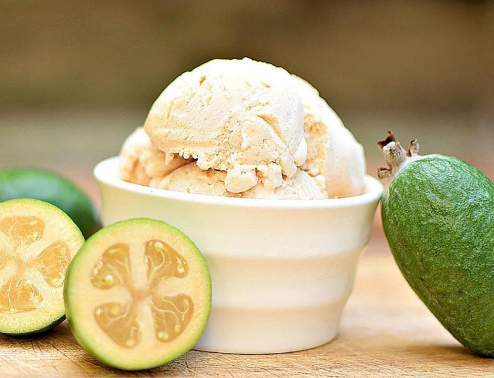 Feijoa Ice Cream | Gluten Free